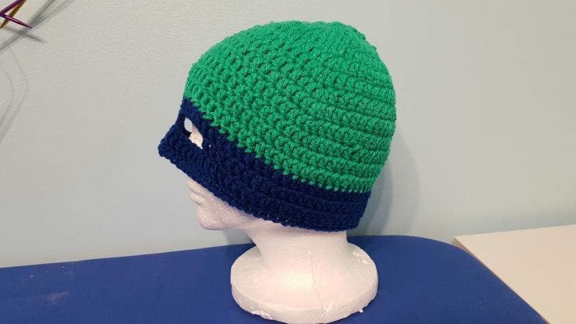 Crochet Tmnt Hat The Nerdy Knittery